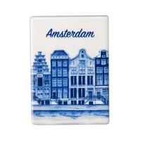 Typisch Hollands Magnet Tile - Rechteck Amsterdam stehend