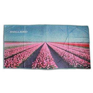 Typisch Hollands Bath towel Tulip landscape