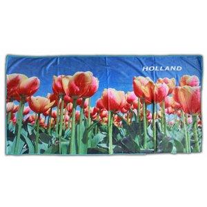 Typisch Hollands Badetuch Tulpen