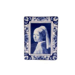 Heinen Delftware Applique Vermeer verticaal