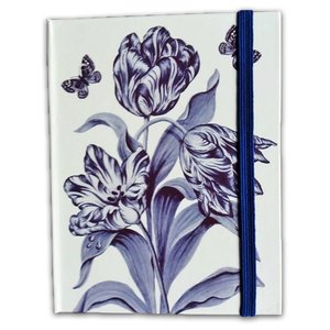 Typisch Hollands Notebook Delft blue