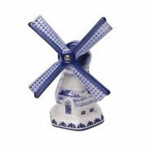 Typisch Hollands Blaue Windmühle Delfts - Landschaftsdekoration