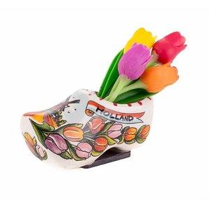 Typisch Hollands Magnetklumpen Einzelkeramik 7 cm Tulpen
