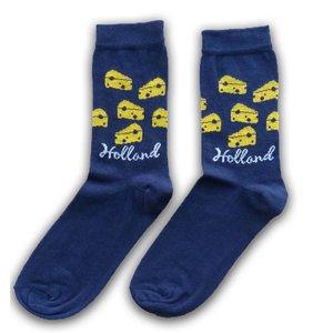 Typisch Hollands Socks size 35-41 Cheese cubes