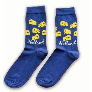 Typisch Hollands Socks size 40-46 Cheese cubes