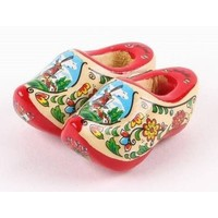 Typisch Hollands Magnet - Clogs - Blank