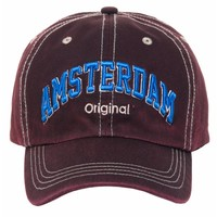 Robin Ruth Fashion Trendy Cap - Amsterdam - Robin Ruth - Jeans Red