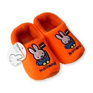 Nijntje (c) Miffy Babyschuhe Orange -0-6 Monate