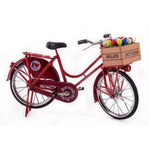 Typisch Hollands Fahrrad rot - Holland - Amsterdam.