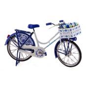 Typisch Hollands Holländisches Fahrrad Delfter Blau