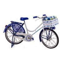 Typisch Hollands Bicycle Delft blue - Holland