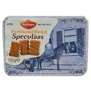 Typisch Hollands Speculaas in a tin Delft blue