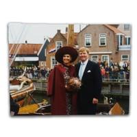 Typisch Hollands Ansichtkaart - Koning & Koningin - Nederland