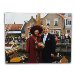 Typisch Hollands Postkarte - König & Königin - Niederlande