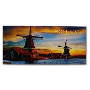 Typisch Hollands Panoramakarte - Holland - Mills