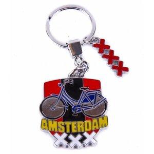 Typisch Hollands Sleutelhanger fiets - Amsterdam