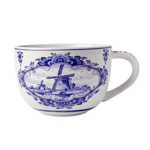 Typisch Hollands Delft blue soup bowl