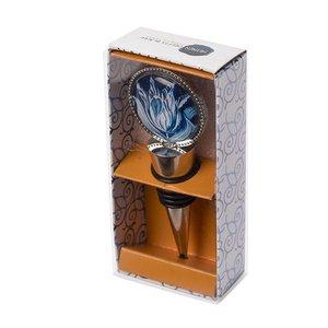 Heinen Delftware Wine stopper - Round - Tulip
