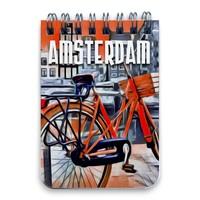 Typisch Hollands Notitieboekje A7 Amsterdam Bike