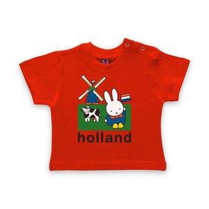 Nijntje (c) Baby T-Shirt Nijntje - weiland Holland
