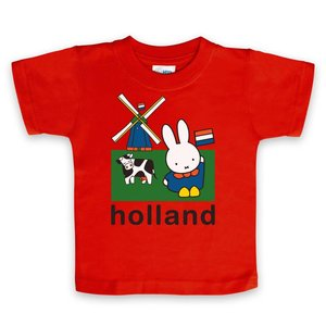 Nijntje (c) T-Shirt Nijntje - weiland Holland