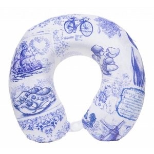 Robin Ruth Fashion Neck pillow - Delft blue