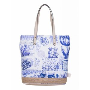 Robin Ruth Fashion Damestas - Shopper - Delfts blauw