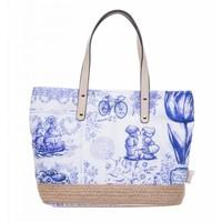Robin Ruth Fashion Dames shopper Scarlett - Delfts blauw