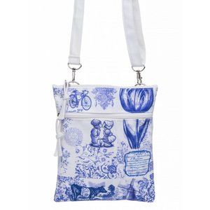 Robin Ruth Fashion Neck bag - Passport bag - Delft blue