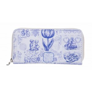 Robin Ruth Fashion Ladies wallet - Delft blue