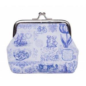 Robin Ruth Fashion Knip-Portemonnee - Delfts blauw