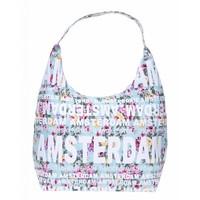 Robin Ruth Fashion Shoulder bag Flowers - Light blue / Mint