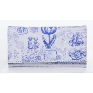 Robin Ruth Fashion Ladies wallet - Delft blue - Copy