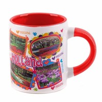 Typisch Hollands Espresso coffee mug - photos love Holland small