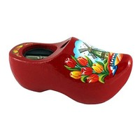 Typisch Hollands Pencil sharpener clog - 8.5 cm - Red