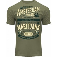 FOX Originals T-Shirt Amsterdam Marihuana