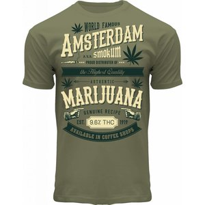 FOX Originals T-Shirt Amsterdam Marihuana