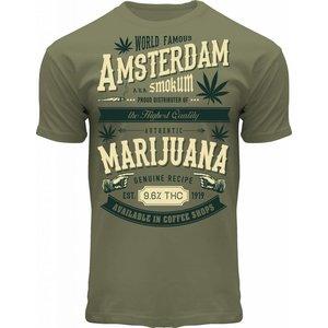 Holland fashion T-Shirt Amsterdam Marijuana