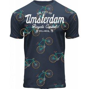 FOX Originals T-Shirt Amsterdam - Fahrräder