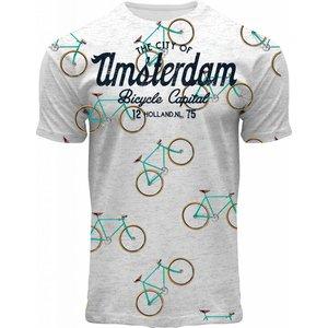 Holland fashion T-Shirt Amsterdam - Bikes.