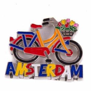 Typisch Hollands Magnet Metall Fahrrad Amsterdam