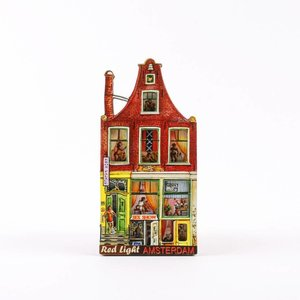 Typisch Hollands Magneet Grachtenhuisje Amsterdam - Sexhouse