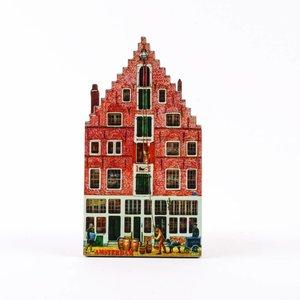 Typisch Hollands Magneet 2D MDF Singel Amsterdam