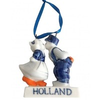 Typisch Hollands Christmas Tree Decoration - Kissing Couple - Holland - Christmas