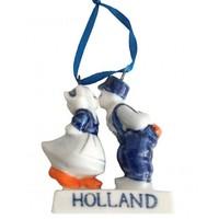 Typisch Hollands Kerstboomdecoratie - Kussend Paar - Holland - Kerst