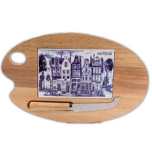 Typisch Hollands Cheese board Palette-shaped (blade)