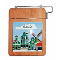 Typisch Hollands Cheese cutter - Plank- Zaans