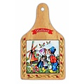 Typisch Hollands Cheese board Colorfull Holland - Farmers couple