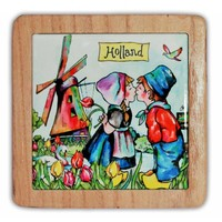 Typisch Hollands Hotplate colorful Holland