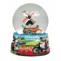 Typisch Hollands Schneekugel Holland Groot